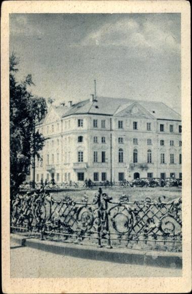 Ak Warszawa Warschau Polen, Poczta Saska