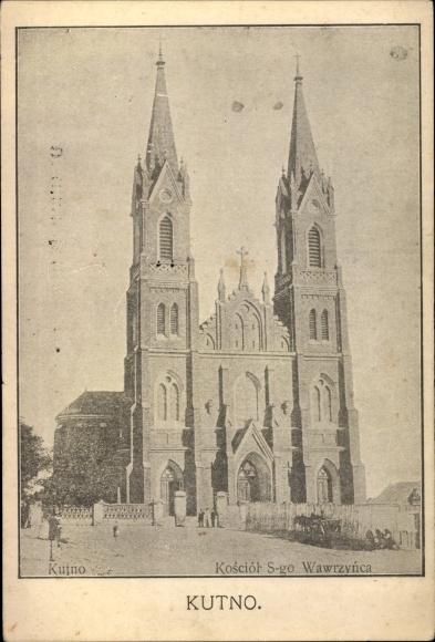 Ak Kutno Polen, Kosciol S-go Wawrzynca, Kirche