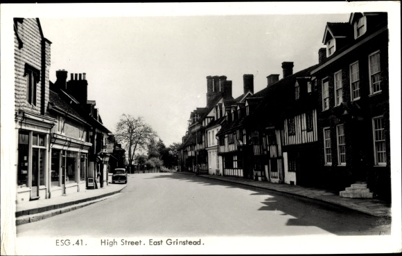 Ak East Grinstead South East England, High Street