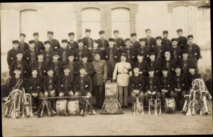 Foto Ak Französisches Militärorchester, Zuaven, 2e Zouaves