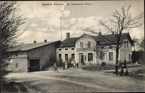 Ak Flensburg in Schleswig Holstein, Gasthof Kattbek