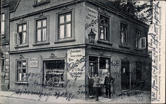 Ak Itzehoe in Schleswig Holstein, Konditorei und Kaffeehaus, Breitenburger Straße 14