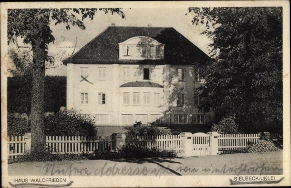 Ak Sielbeck Uklei Eutin in Ostholstein, Haus Waldfrieden