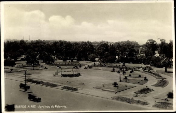 Ak Buenos Aires Argentinien, Jardines de Palermo