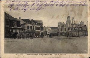 Ak Tukums Tuckum Lettland, Marktplatz