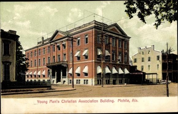 Ak Mobile Alabama USA, Young Men's Christian Association Building