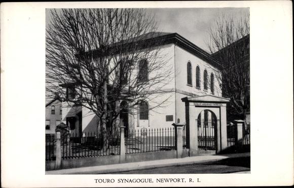 Judaika Ak Newport Rhode Island USA, Touro Synagogue, Synagoge