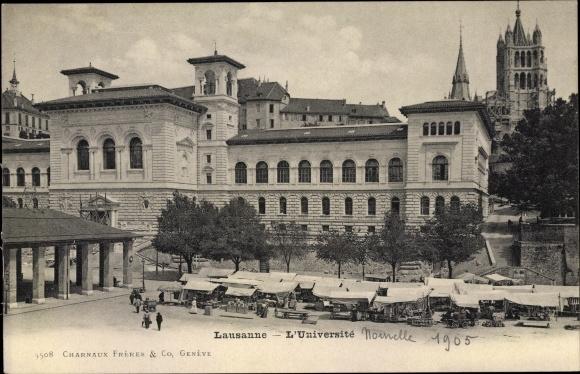 Ak Lausanne Kt. Waadt Schweiz, L'Université