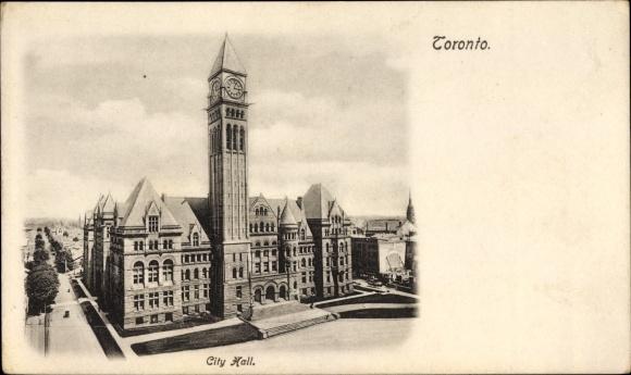 Ak Toronto Ontario Kanada, City Hall