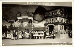 Foto Ak Sonneberg in Thüringen, Spielzeugschau 1933, Rudolf Leschhorn