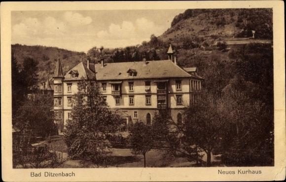 Ak Bad Ditzenbach in Baden Württemberg, Neues Kurhaus