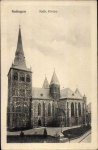 Ak Ratingen Nordrhein Westfalen, Katholische Kirche