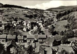 Ak Pappenheim Kleinschmalkalden Floh Seligenthal Thüringen, Ebersbachtal und Talstraße, Panorama