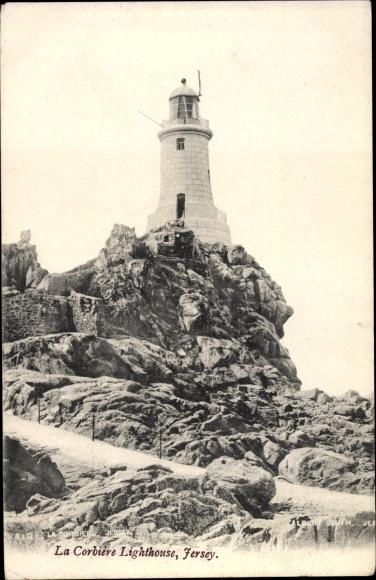 Ak Jersey Kanalinseln, Corbière Lighthouse