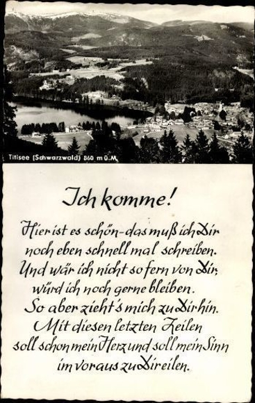 10 alte Ak Titisee Neustadt im Breisgau Hochschwarzwald, diverse Ansichten