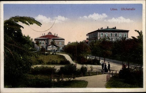Ak Liepaja Libau Lettland, Ulichstraße