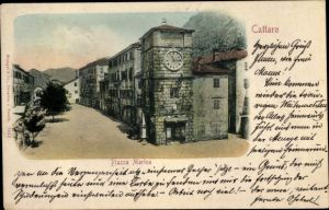 Ak Cattaro Kotor Montenegro, Piazza Marina