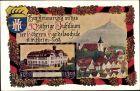 Künstler Ak Kirchheim unter Teck, 50 Jähriges Jubiläum der Höheren Handelsschule 1862-1912
