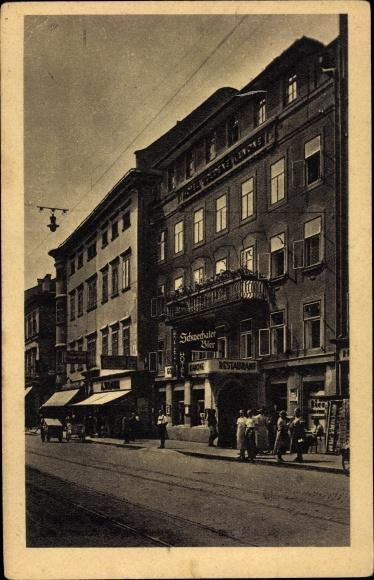 Ak Linz in Oberösterreich, Landstraße, Hotel Kanone
