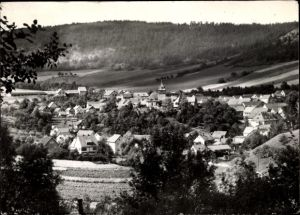 Ak Solsdorf Königsee in Thüringen, Panorama vom Ort