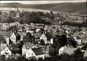 Ak Königsee Rottenbach in Thüringen, Panorama vom Ort