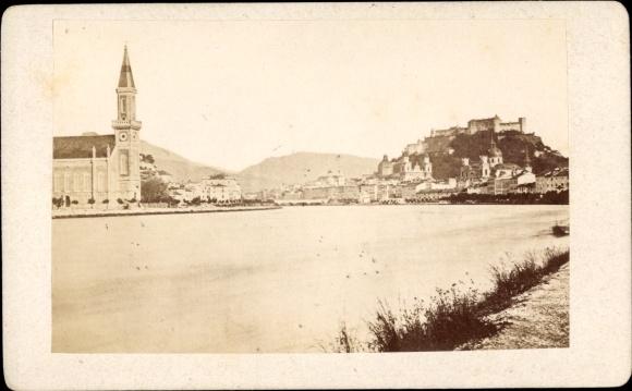 Foto Salzburg in Österreich, Salzachpartie, Hohensalzburg, Kirche
