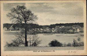 Alt Buchhorst Grünheide in der Mark, Blick auf Ortschaft und Möllensee