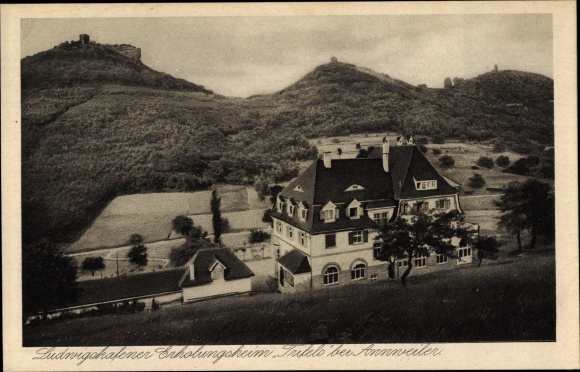 Ak Annweiler am Trifels im Kreis Südliche Weinstraße, Ludwigshafener Erholungsheim Trifels