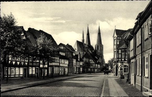 Ak Duderstadt Eichsfeld Niedersachsen, Obertorstraße