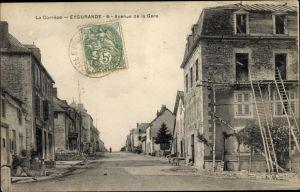 Ak Eygurande Corrèze, Avenue de la Gare