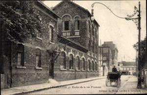 Ak Levallois Perret Hauts de Seine, Ecoles de la Rue Fromont