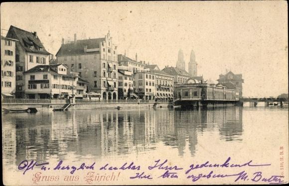 Ak Zürich Stadt Schweiz, Schweizerhof