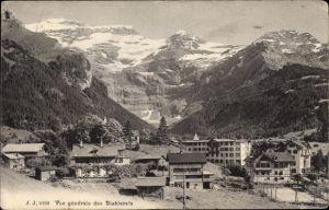 Ak Les Diablerets Kanton Waadt, Vue générale