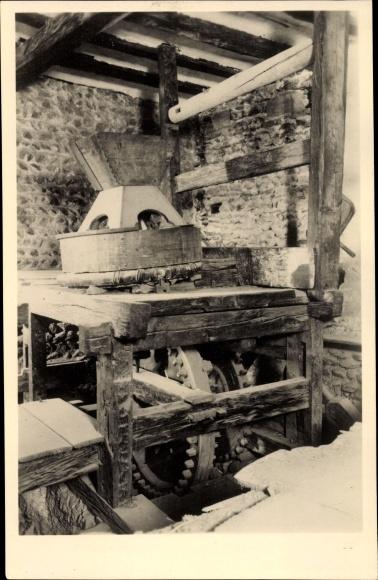 Ak Sion Sitten Kt. Wallis, Collegiale de Valere, Le vieux Moulin