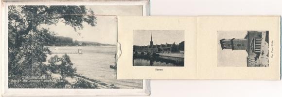 Leporello Ak Dänemark, Amalienborg, Frederikskirken, Borsen, Vor Frue Kirke, Strandvejen
