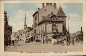 Ak Laroche Migennes Yonne, Avenue de la Gare, Buvette de la Gare