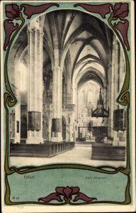 Passepartout Ak Erfurt in Thüringen, Dom, Innenansicht