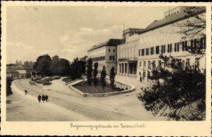 Ak Eisenstadt im Burgenland, Regierungsgebäude