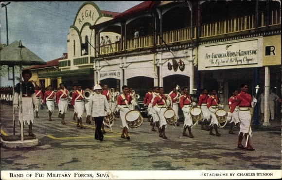 Ak Suva Fidschi, Band of Military Forces, Parade