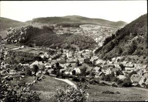 Ak Kleinschmalkalden Floh Seligenthal Thüringen, Blick vom Röder