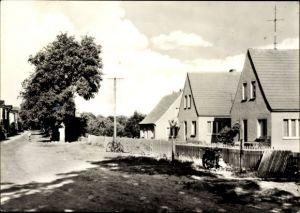 Ak Dahmen in Mecklenburg Vorpommern, Partie in der Dorfstraße