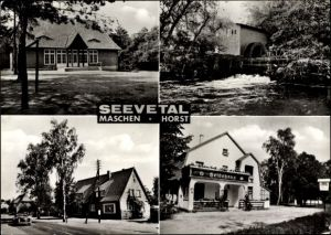 Ak Seevetal im Kreis Harburg, Maschen, Horst, Wassermühle, Heidemühle
