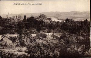 Ak Cergy Val d'Oise, Vue panoramique
