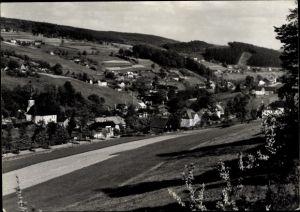 Ak Rittersgrün Breitenbrunn im Erzgebirge, Blick auf den Ort