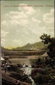 Ak Panama, Panama Kanal, Interior of Camacho Dam, Canal Zone
