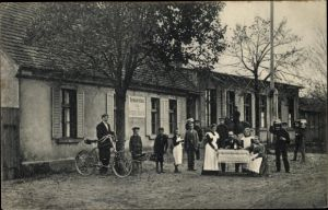 Ak Gryfice Greifenberg Pommern, Restauration Hermann Haack