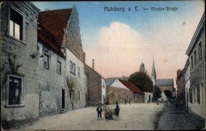 Ak Mühlberg an der Elbe Brandenburg, Klosterstraße