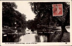 Ak Le Vesinet Yvelines, Le Lac Inferieur