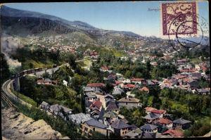 Ak Sarajevo Bosnien Herzegowina, Panorama