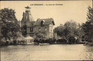 Ak Le Vesinet Yvelines, Le Lac de Croissy, Pavillon